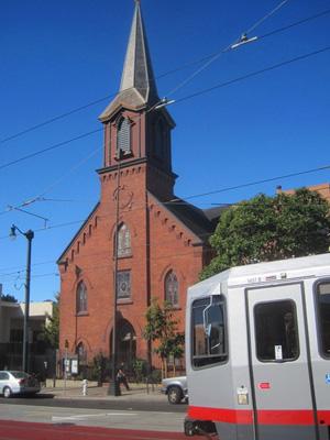 St Francis Lutheran, San Francisco (Exterior)