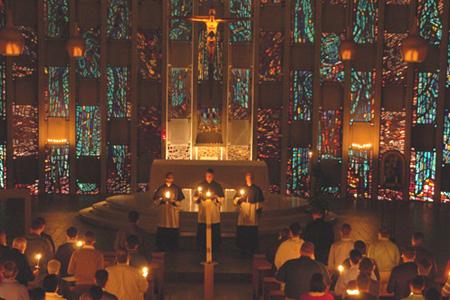 Moreau Chapel, Notre Dame, IN (Window)