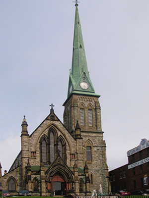 Trinity Church, Saint John, NB (Exterior)