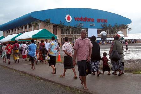 Vodafone Arena, Suva, Fiji(Exterior)