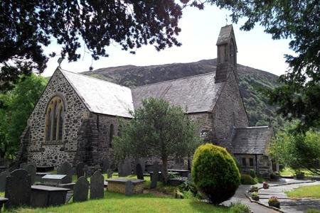 St Marys, Beddgelert, Wales