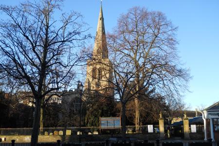 St Paul's, Bedford (Exterior)