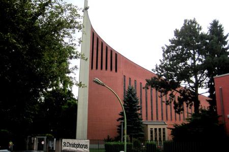 St Christophorus, Frankfurt (Exterior)