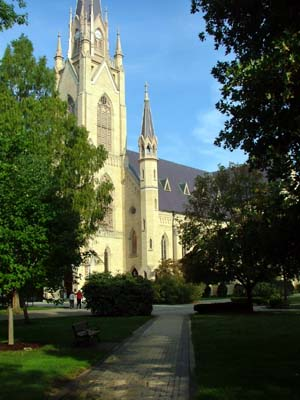 Basilica of the Sacred Heart, Notre Dame, IN (Exterior)
