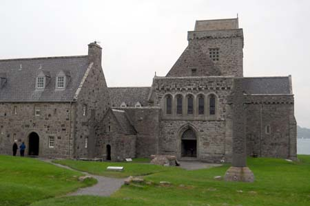 Iona Abbey, Scotland (Exterior)