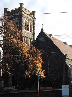 Holy Trinity, Kew, OZ (Exterior)