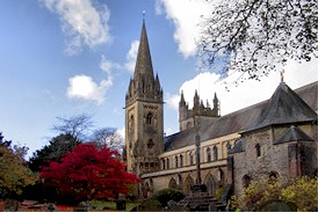 Llandaff Cathedral Cardiff, Wales (Exterior)