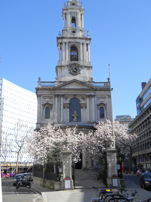 St Mary le Strand, London (Exterior)