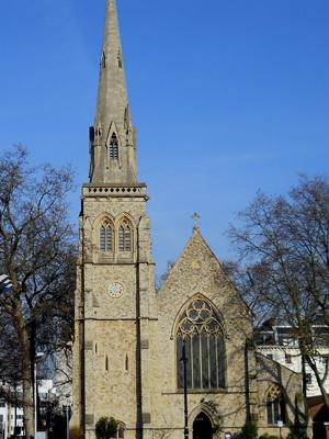 St Saviour, London (Exterior)