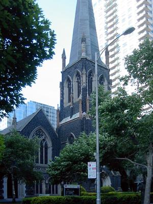 Wesley Uniting, Melbourne (Exterior)