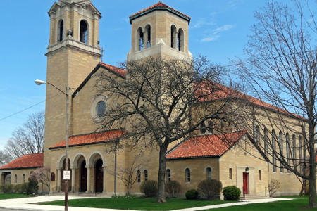 Holy Cross & St Stanislaus, South Bend, IN (Exterior)