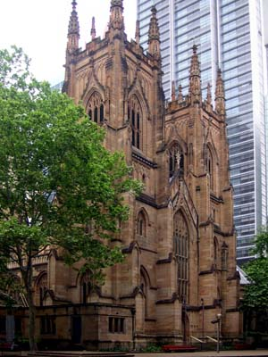 St Andrew's Cathedral, Sydney (Exterior)