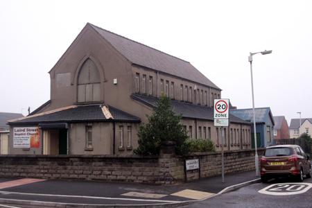 Laird Street Baptist, Birkenhead (Exterior)