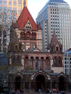 Trinity Church, Boston, MA (Exterior)