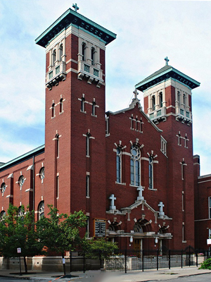 St Jerome, Chicago (Exterior)