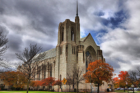 Queen of All Saints, Chicago (Exterior)
