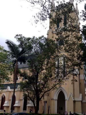 St John's Cathedral, Hong Kong (Exterior)