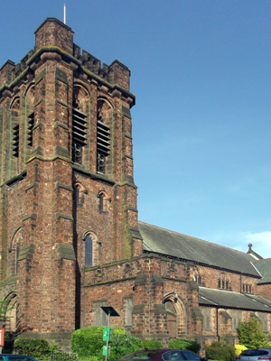 St Barnabas, Liverpool (Exterior)
