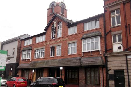 Blessed Sacrament Shrine, Liverpool (Exterior)