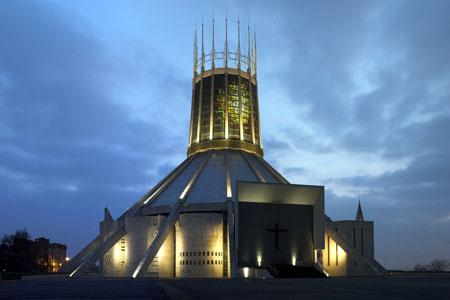 Metropolitan Cathedral, Liverpool (Exterior)