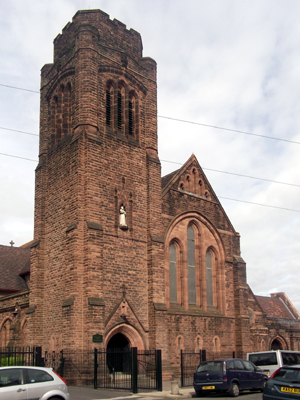 St Francis of Assisi, Liverpool (Exterior)