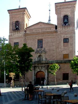St Martin de Tours, Madrid (Exterior)