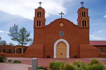 San Miguel Mission, Socorro, NM (Exterior)