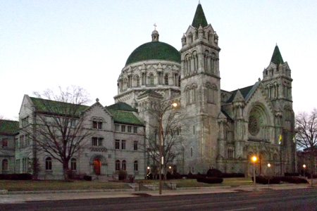 Cathedral Basilica, St Louis, MO (Exterior)