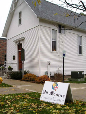 All Saints, Traverse City, MI (Exterior)