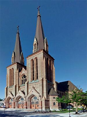 St Paul's, Chicago (Exterior)