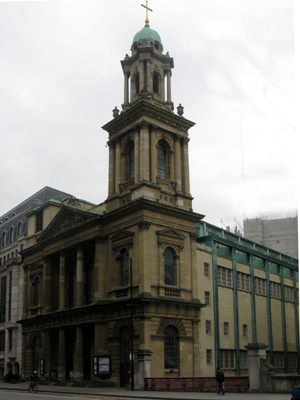 City Temple, Holborn, London (Exterior)