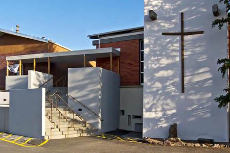 Trinity on the Hill, Los Alamos, NM (Exterior)