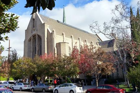 St Brendan's, Los Angeles (exterior)