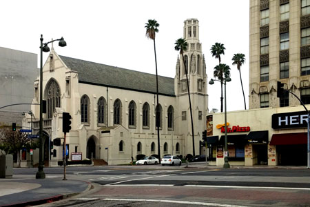 St James in the City, Los Angeles (exterior)