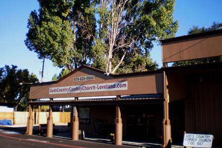 God's Country Cowboy Church, Loveland, CO (Exterior)