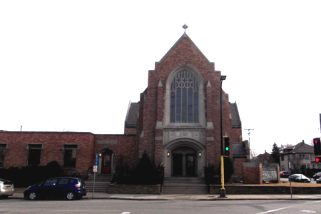 Mount Olive Lutheran, Minneapolis (Exterior)