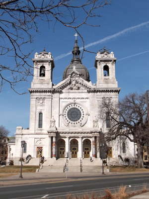 St Mary Basilica, Minneapolis (Exterior)