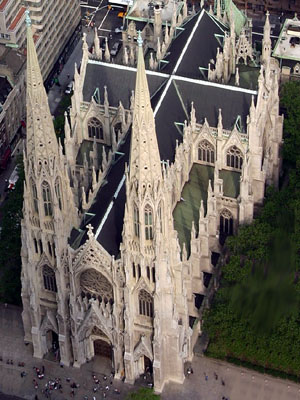 St Patrick's Cathedral, New York (Exterior)