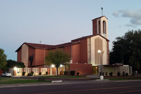 Cathedral of Sts Simon & Jude, Phoenix (Exterior)