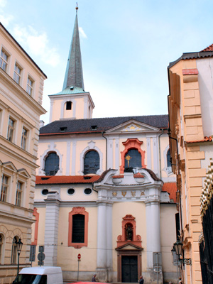 St Thomas, Prague (Exterior)