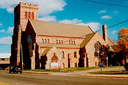 St James, Sault Ste Marie, MI (Exterior)