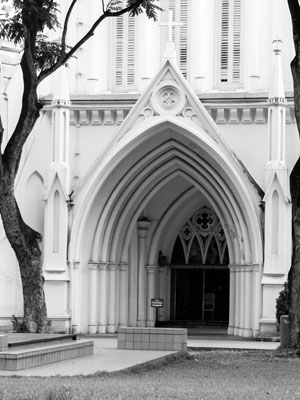 St Andrew's Cathedral, Singapore (Exterior)
