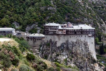 Simonpetra, Mount Athos (Exterior)
