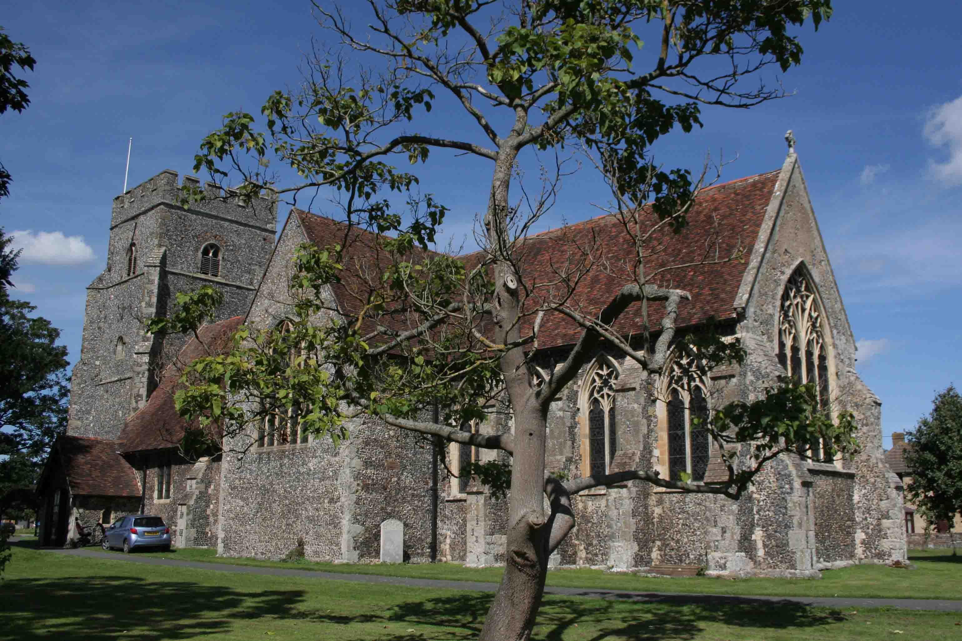 St Mary's, Chartham (Exterior)