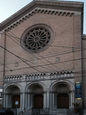 St Mary of the Immaculate Conception, Jersey City, NJ (Exterior)