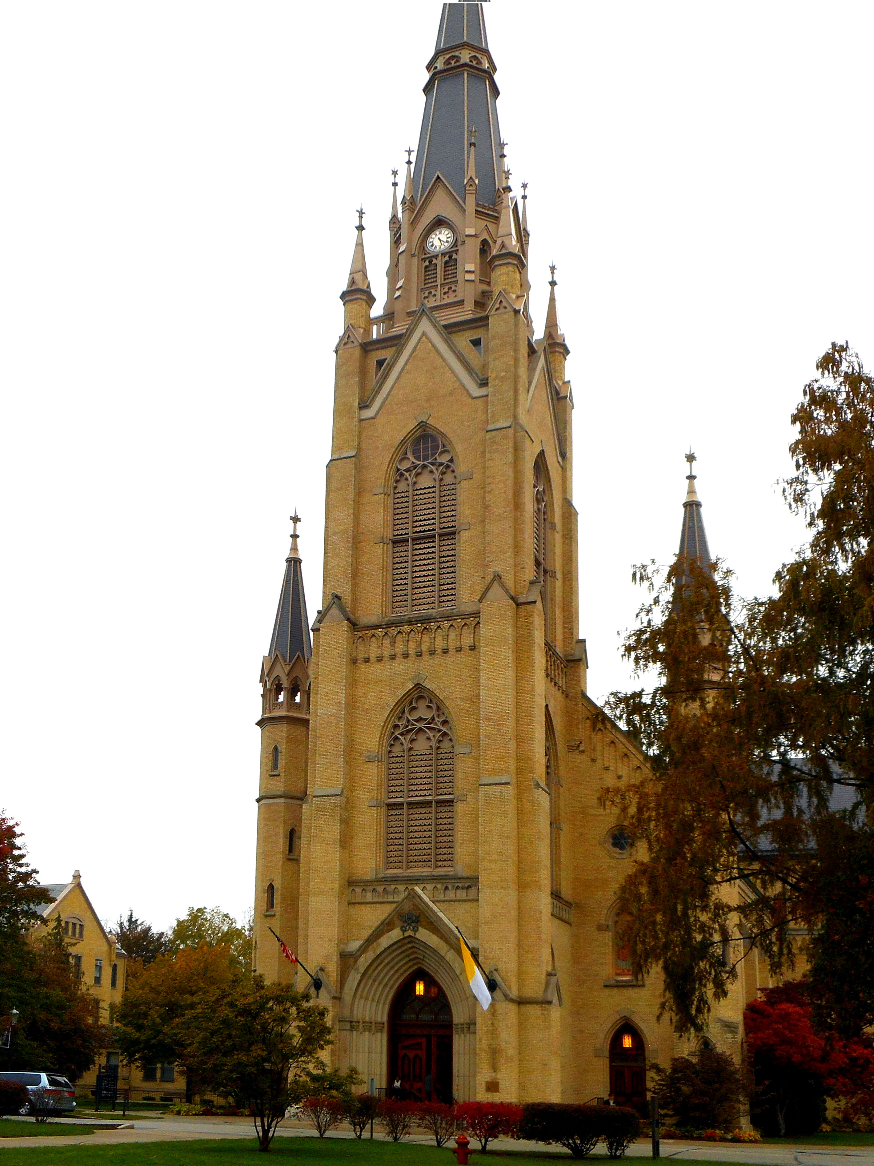 Sacred Heart Basilica, Notre Dame, IN (Exterior)
