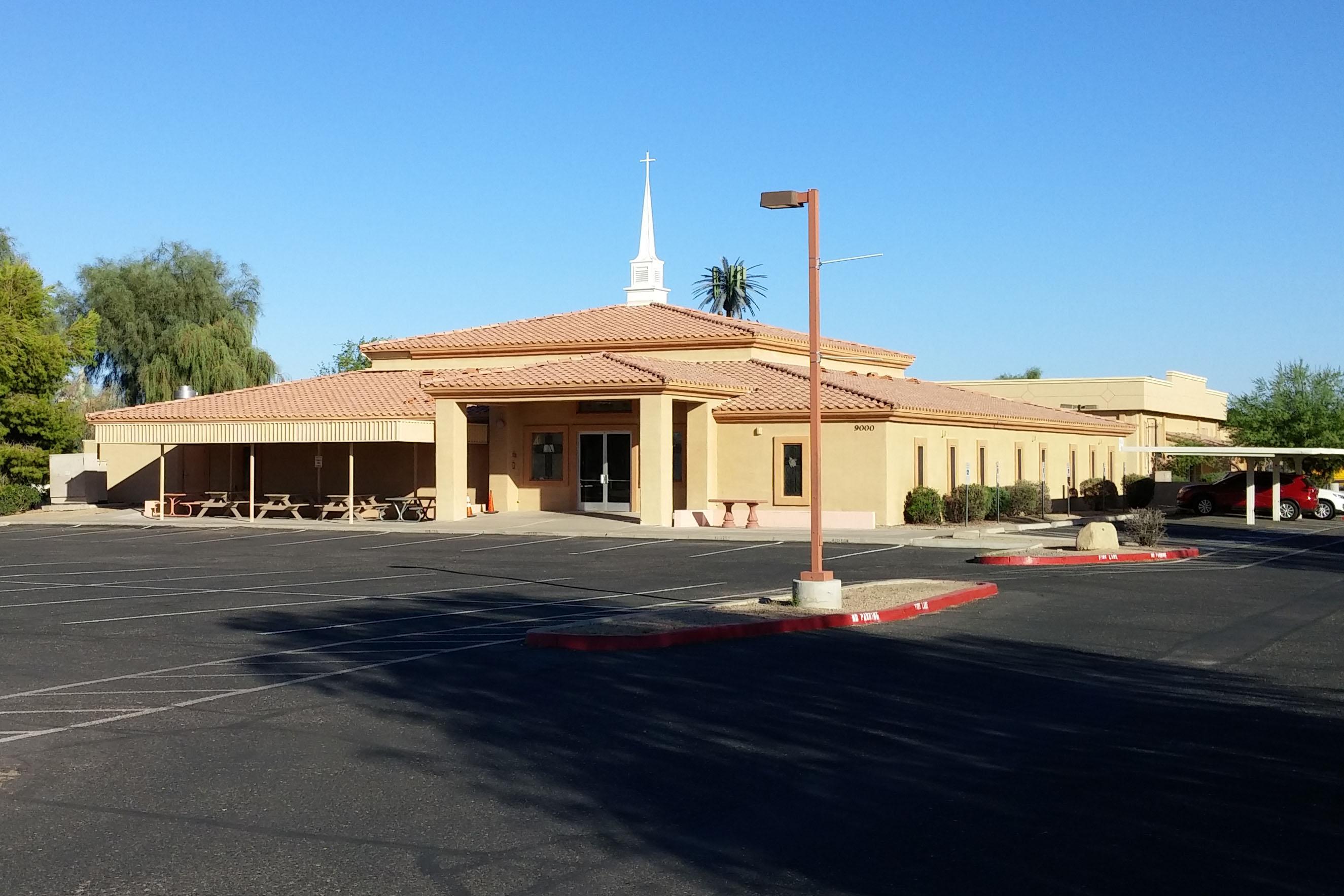 South Peoria Baptist, Peoria, AZ (exterior)
