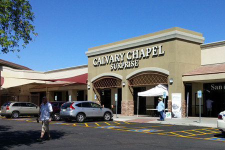 Calvary Chapel, Surprise, AZ (Exterior)