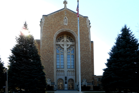 St Joseph's, Wilmette, IL (Exterior)