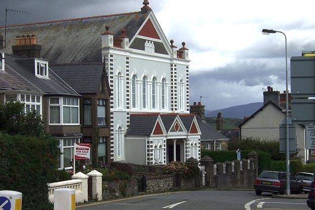 Capel y Traeth, Criccieth (Exterior)